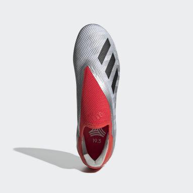 Calzado de Fútbol X 19.3 Césped Artificial Plata Hombre Fútbol