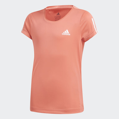 Girls Gym & Training Red Equipment T-Shirt
