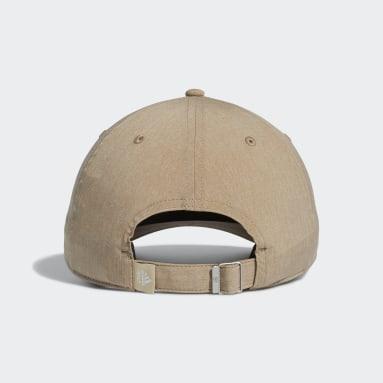 Men Golf Beige adidas Heathered Hat