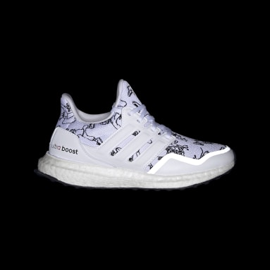 Kids Training White Ultraboost 20 Running Shoes