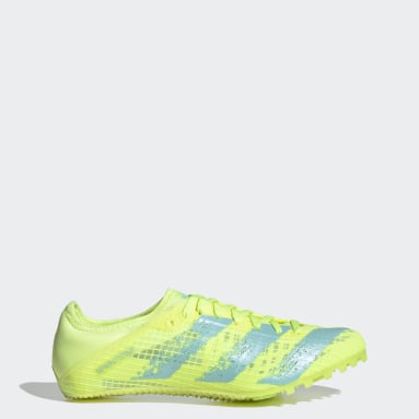 Women's Track & Field Yellow Sprintstar Spikes