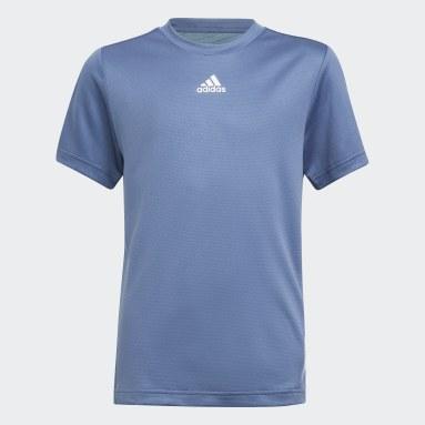 Boys Gym & Training Blue AEROREADY Tee
