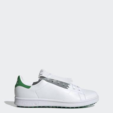 Chaussure de golf sans crampons Stan Smith Primegreen Special Edition Blanc Golf