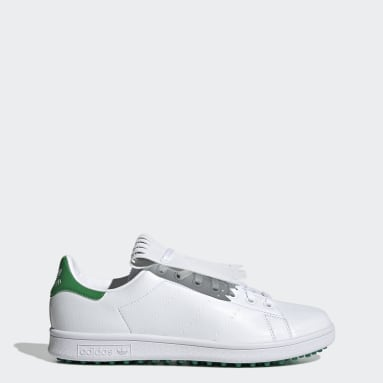 Golf White Stan Smith Primegreen Special Edition Spikeless Golf Shoes