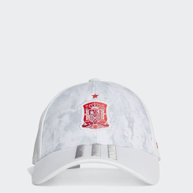 Football White Spain Away Baseball Cap