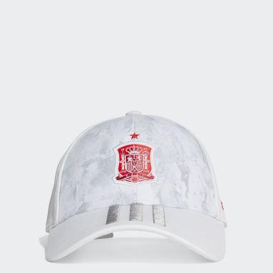 Voetbal Wit Spanje Uit Honkbalpet