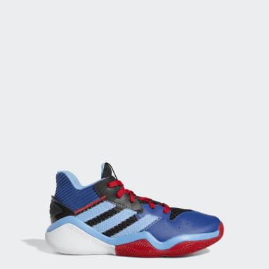 Kids Basketball Black Harden Stepback Shoes