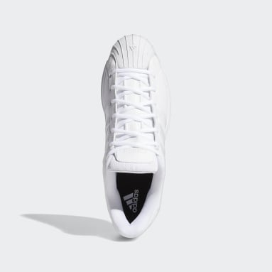 Basketbal wit Pro Model 2G Low Schoenen