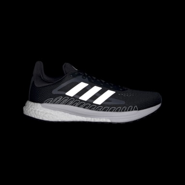 Running Black SolarGlide Shoes