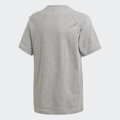 T-shirt Adicolor Cinzento Criança Originals