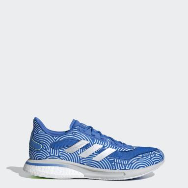 Men Running Blue Supernova Tokyo Shoes