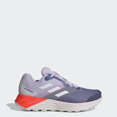 Women TERREX Purple Terrex Two Flow Trail Running Shoes