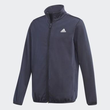 Youth 8-16 Years Sportswear Blue adidas Essentials Tracksuit