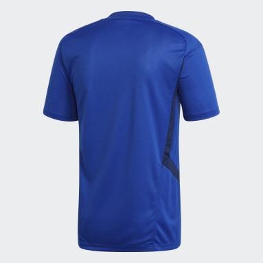 Men Soccer Blue Tiro 19 Training Jersey