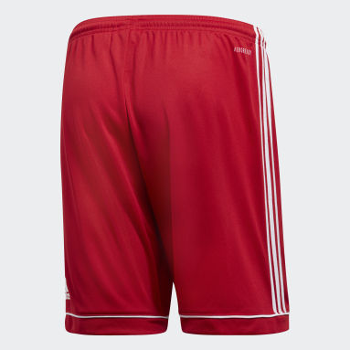 Men Gym & Training Red Squadra 17 Shorts