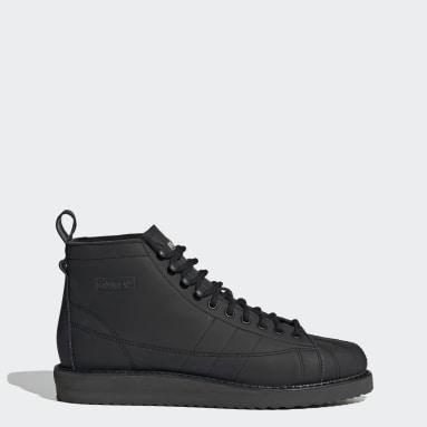 Women Originals Black Superstar Boots