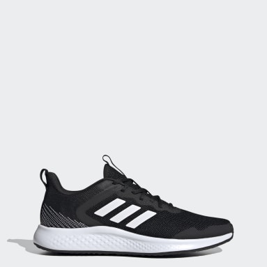 Men Running Black Fluidstreet Shoes