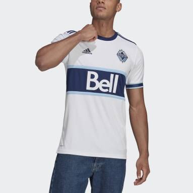 Men Soccer White Vancouver Whitecaps FC 21/22 Home Jersey