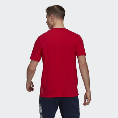 Men Football Red Arsenal CNY Tee