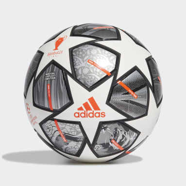 Fotbal bílá Míč Finale 21 20th Anniversary UCL Competition