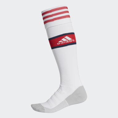 Chaussettes Domicile Arsenal Blanc Football