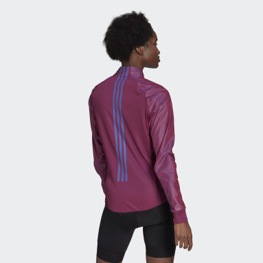 Women Cycling Purple The Cycling Windbreaker