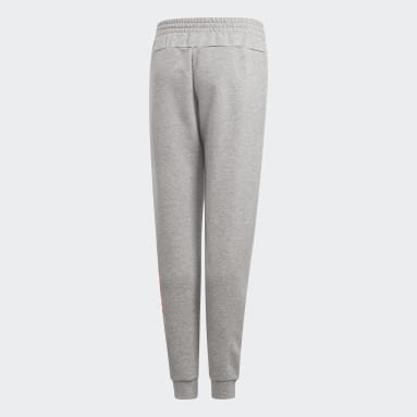 Girls Sportswear Grey Linear Pants