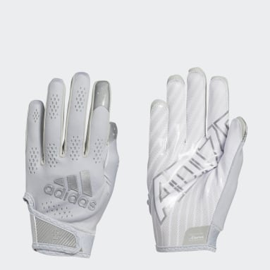 Men's Football Grey Adizero 11 Turbo Gloves