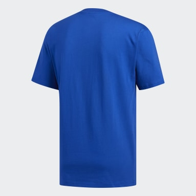 Heren Originals Blauw Urgello T-shirt