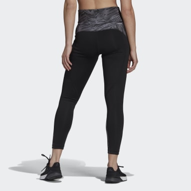 Frauen Fitness & Training U4U AEROREADY 7/8-Tight Schwarz