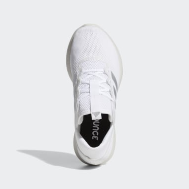 Women Running White Edge Flex Shoes