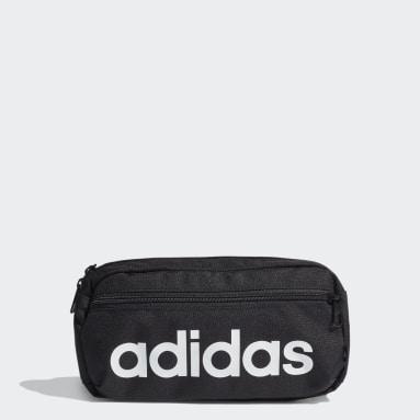 Riñonera Essentials Logo Negro Tenis
