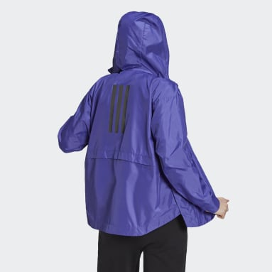 Women's Hiking Purple Traveer WIND.RDY Jacket