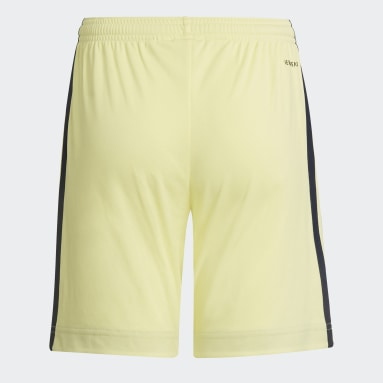 Kids Football Yellow Arsenal 21/22 Away Shorts