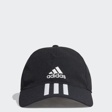 AEROREADY 3-Stripes Baseball Caps Svart