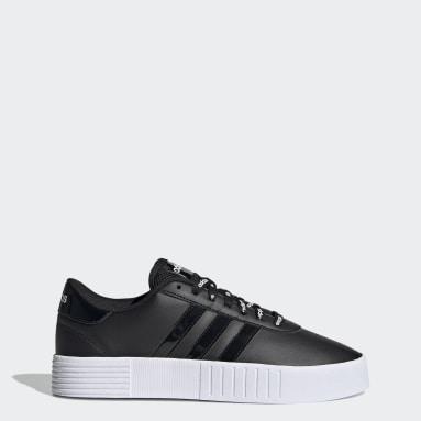 Women Sport Inspired Black Court Bold Shoes