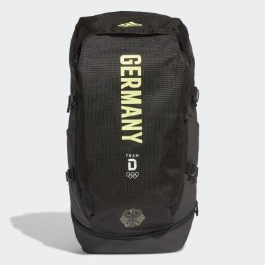 Tréning A Fitnes čierna Ruksak Team Germany