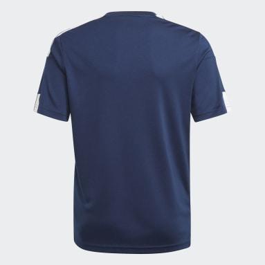 เด็กผู้ชาย ฟุตบอล สีน้ำเงิน SQUAD 21 JSY Y