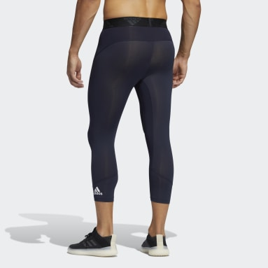 Männer Running Techfit 3/4-Tight Blau