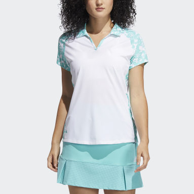 Polo Ultimate365 Primegreen Printed Blanco Mujer Golf