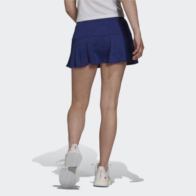 Women Tennis Blue Tennis Match Skirt