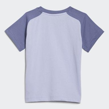 T-shirt adidas x Disney Pixar Monsters, Inc. Violet Enfants Sportswear