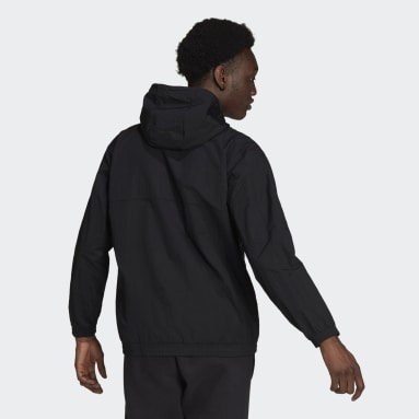 Männer Originals SPRT Archive Woven Windbreaker Schwarz