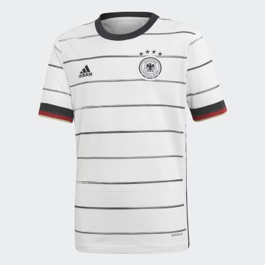 Děti Fotbal bílá Dres Germany Home