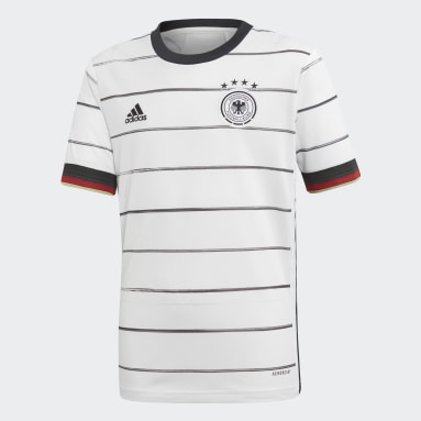 Maillot Allemagne Domicile blanc Adolescents Soccer