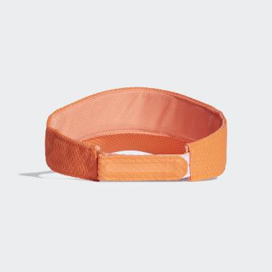 Running Orange Climacool Running Visor