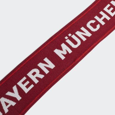 Soccer Red FC Bayern Scarf