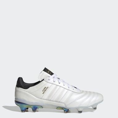 Men Football White Eternal Class.1 Copa Mundial Firm Ground Boots