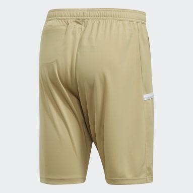 Pantalón corto Team 19 3-Pocket Beige Hombre Fútbol