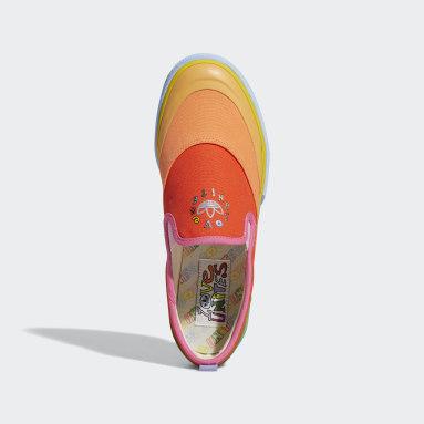 ผู้ชาย Originals สีแดง รองเท้า Nizza Pride ทรงสลิปออน